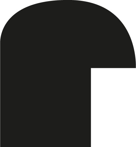 Baguette coupe droite bois profil demi rond largeur 1.5cm couleur bordeaux satiné
