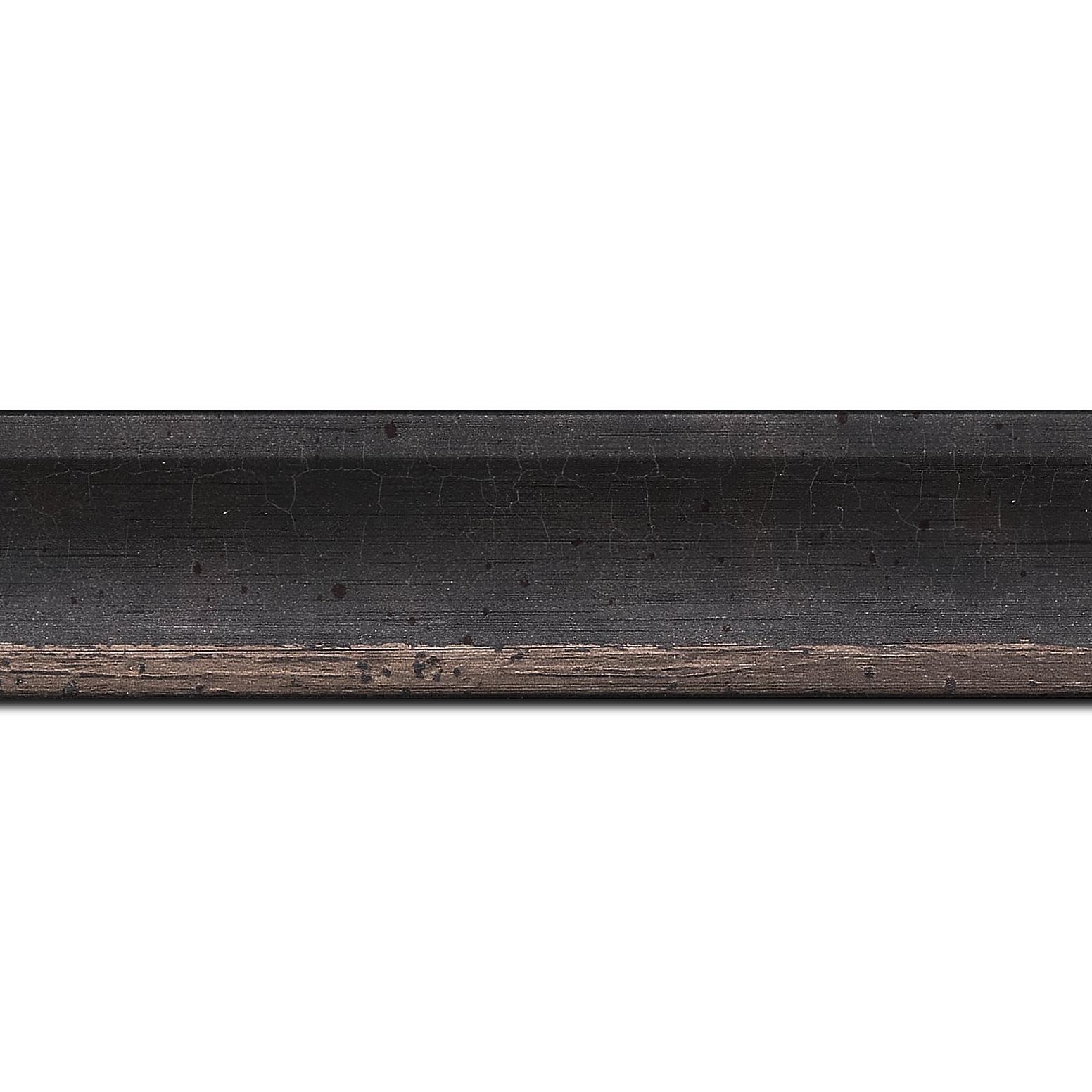 Pack par 12m, bois profil incurvé largeur 3.9cm plombs tamisé (longueur baguette pouvant varier entre 2.40m et 3m selon arrivage des bois)
