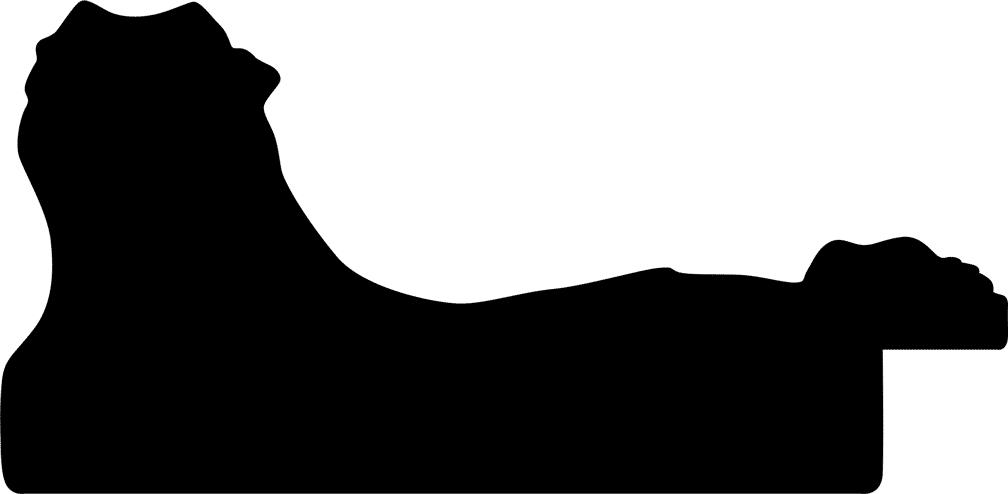 Baguette 12m bois profil incurvé largeur 8.5cm argent chaud antique