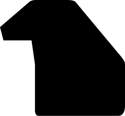 Baguette coupe droite bois profil plat 3 faces largeur 2.8cm de couleur noir mat finition pore bouché