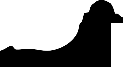 Baguette coupe droite bois profil inversé largeur 9.2cm or patiné  classique