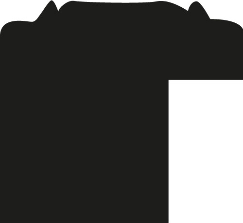 Baguette 12m bois profil jonc largeur 1.6cm argent style décor angulaire