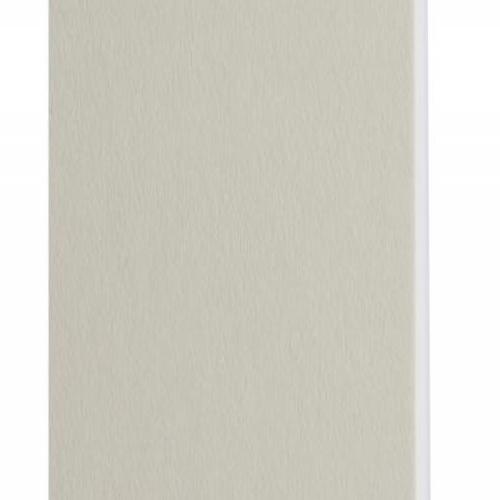 Plaque passe-partout gris clair, âme blanche, épaisseur 1,4mm dimension 80x120cm - Pack de 25 feuilles