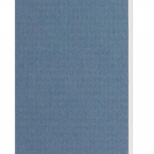 Plaque passe-partout bleu ciel, âme blanche, épaisseur 1,4mm dimension 80x120cm - Pack de 25 feuilles
