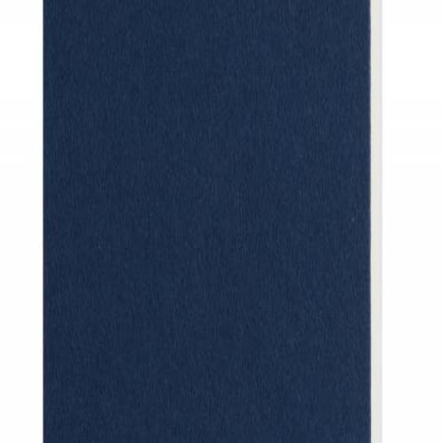 Plaque passe-partout bleu roi, âme blanche, épaisseur 1,4mm dimension 80x120cm - Pack de 25 feuilles