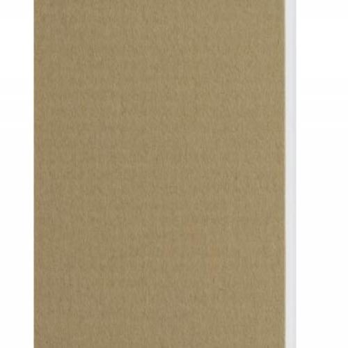 Plaque passe-partout sable, âme blanche, épaisseur 1,4mm dimension 80x120cm - Pack de 25 feuilles