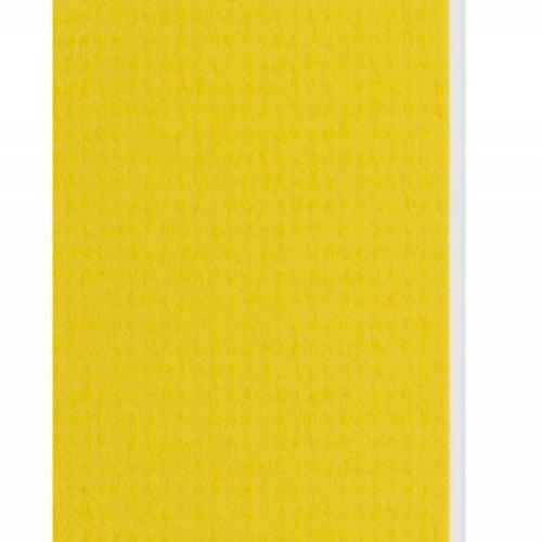 Plaque passe-partout jaune bouton d'or, âme blanche, épaisseur 1,4mm dimension 80x120cm - Pack de 25 feuilles