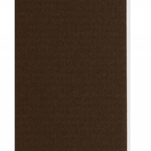 Plaque passe-partout chocolat, âme blanche, épaisseur 1,4mm dimension 80x120cm - Pack de 25 feuilles