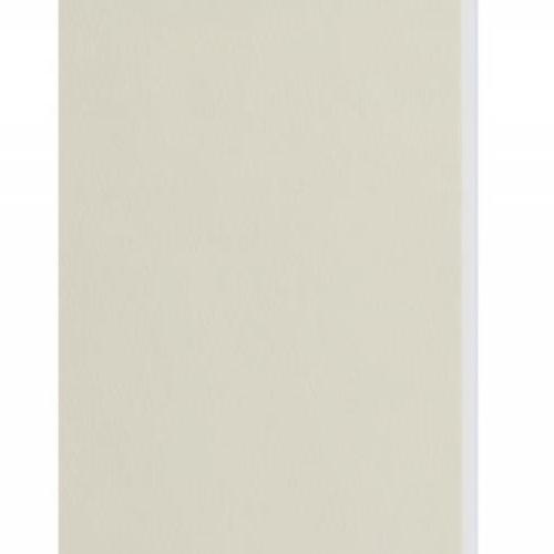 Plaque passe-partout crème, âme blanche, épaisseur 1,4mm dimension 80x120cm - Pack de 25 feuilles
