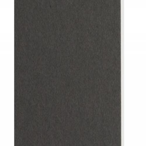 Plaque passe-partout gris foncé, âme blanche, épaisseur 1,4mm dimension 80x120cm - Pack de 25 feuilles