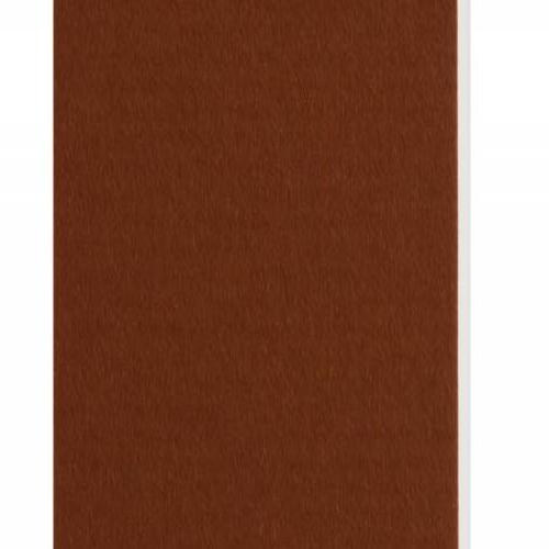 Plaque passe-partout ocre, âme blanche, épaisseur 1,4mm dimension 80x120cm - Pack de 25 feuilles