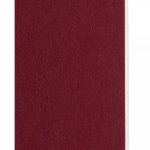 Plaque passe-partout bordeaux, âme blanche, épaisseur 1,4mm dimension 80x120cm - Pack de 25 feuilles