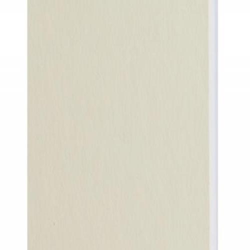Plaque passe-partout crème, âme blanche, épaisseur 1,4mm dimension 102x152cm - Pack de 25 feuilles