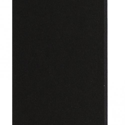 Plaque passe-partout noir, âme noire, épaisseur 1,4mm dimension 80x120cm - Pack de 25 feuilles