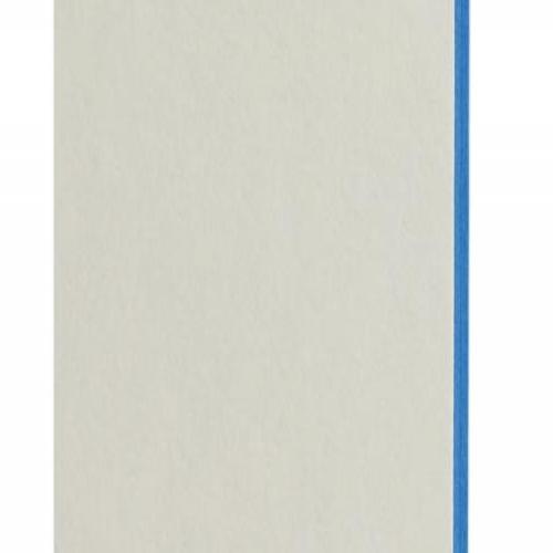 Plaque passe-partout blanc naturel, âme de couleur pigmentée (bleu tonique), épaisseur 1,7mm dimension 80x102cm - Pack de 20 feuilles