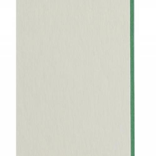 Plaque passe-partout blanc naturel, âme de couleur pigmentée (vert tonique), épaisseur 1,7mm dimension 80x102cm - Pack de 20 feuilles