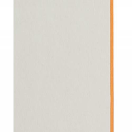Plaque passe-partout blanc naturel, âme de couleur pigmentée (orange tonique), épaisseur 1,7mm dimension 80x102cm - Pack de 20 feuilles