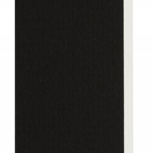 Plaque passe-partout noir, âme blanche, épaisseur 3,3mm dimension 80x120cm - Pack de 10 feuilles